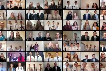 England Manchester Mission choir