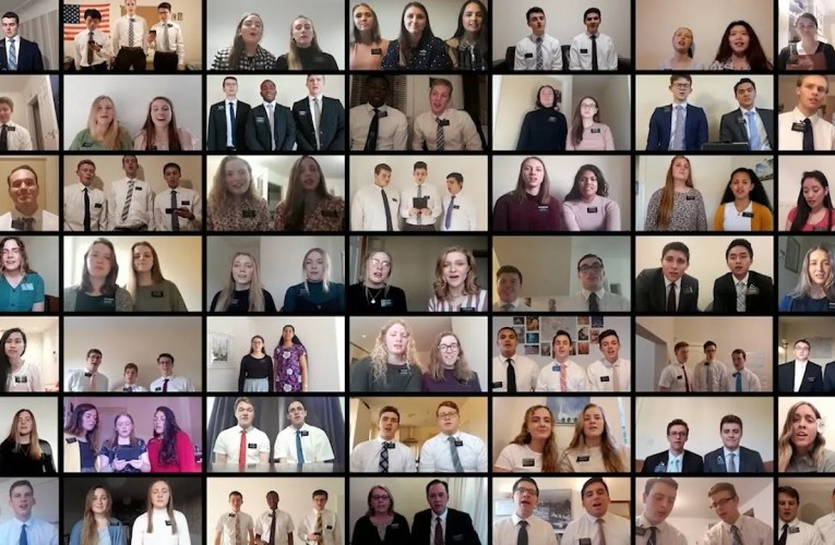 England Manchester Mission Virtual Choir Reaches a Global Audience