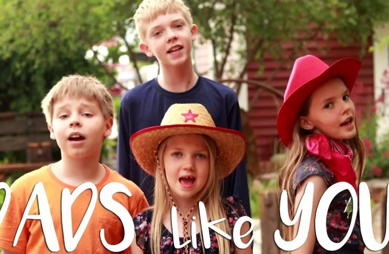 Geelightful YouTube Family Sings Song in Tribute to Fathers