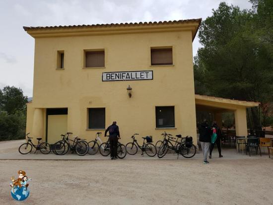 Alojamiento en la Antigua estación de tren de Benifallet