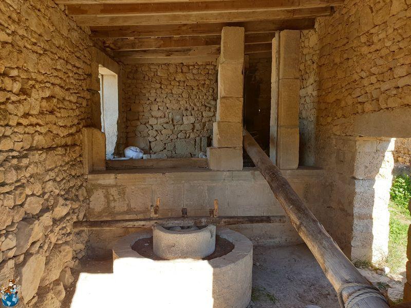 Antiguo molino de aceite de Volubilis