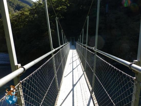 Blue Pools Track - Parque Nacional Mount Aspiring