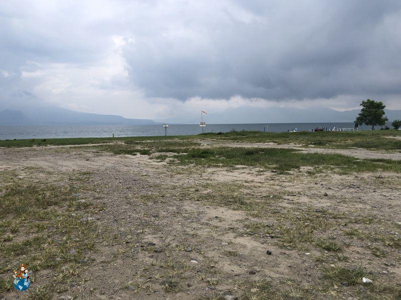 Playa Lago Atilán en Panajachel