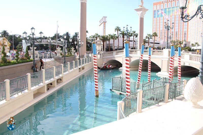 Paseo en góndola en el Hotel The Venetian - Las Vegas