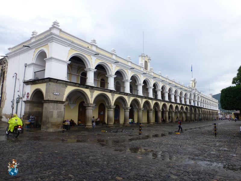 Palacio de los Capitanes Generales en Antigua Guatemala