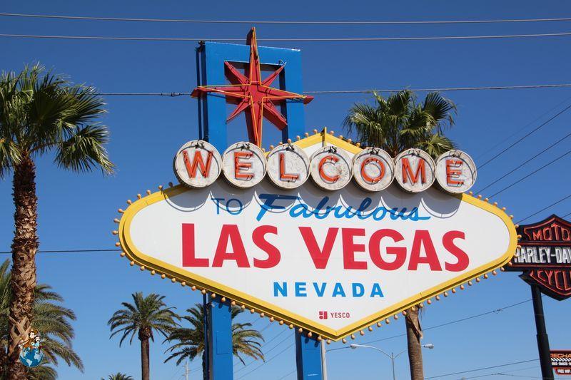 "Letrero de ""Welcome to Fabulous Las Vegas"""