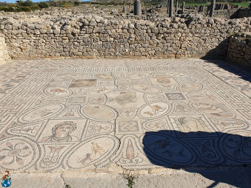Casa de Hércules en Volubilis