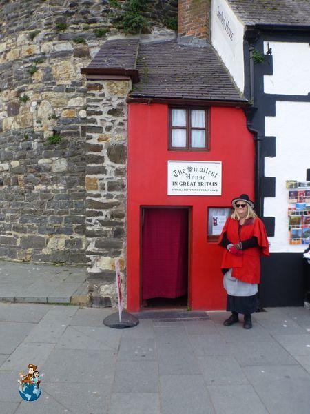 Casa más pequeña de Inglaterra - Conwy