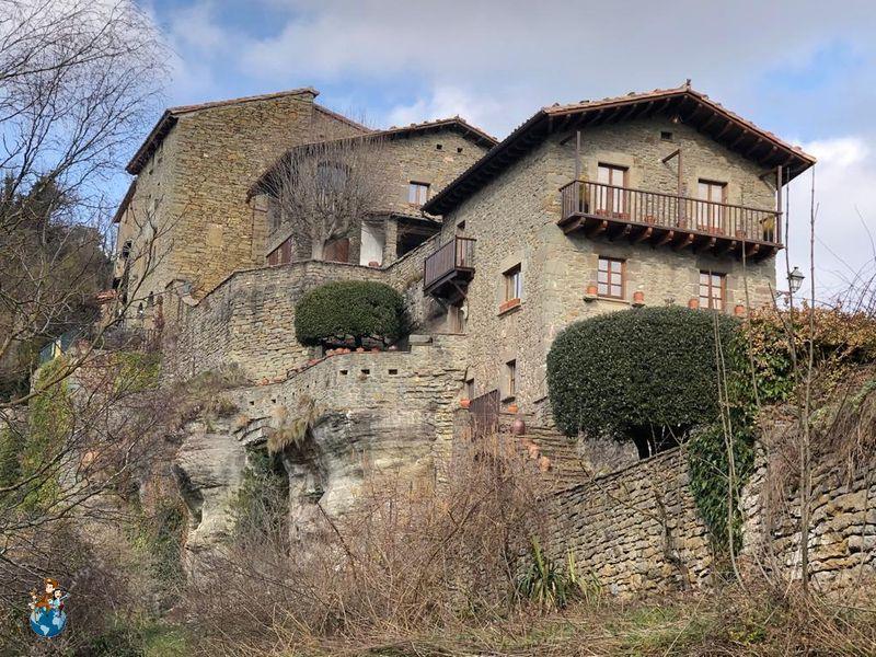 Casas típicas de Rupit