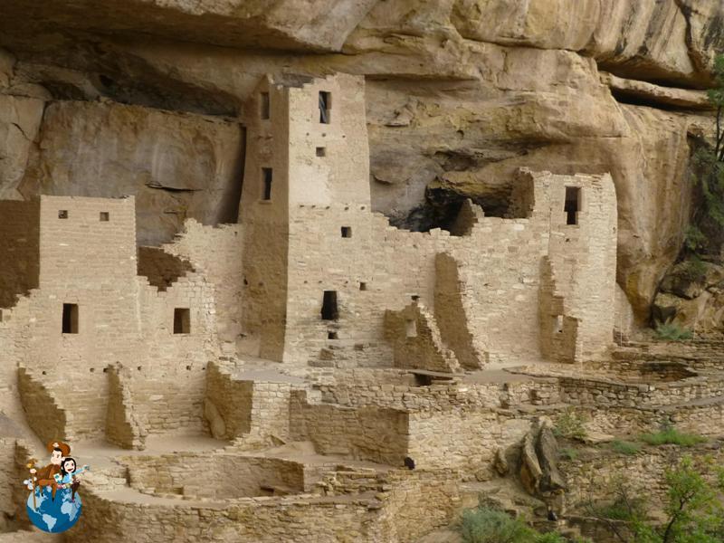 Salida Cliff Palace - Parque Nacional Mesa Verde