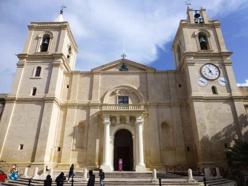Fachada Concatedral de San Juan - La Valeta