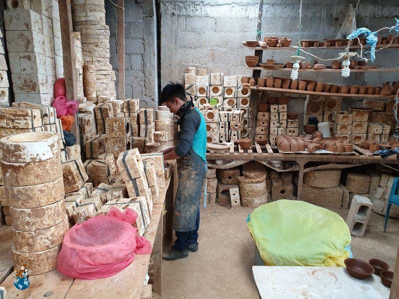 Fábrica cerámica en San Antonio Palopó