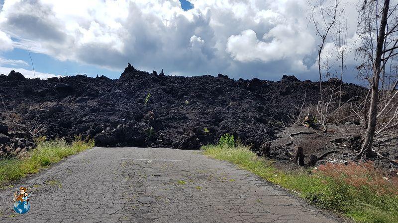 Erupción Volcán Kilauea 2018