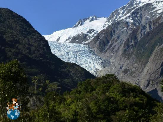 Glacial Franz Josef - Nueva Zelanda