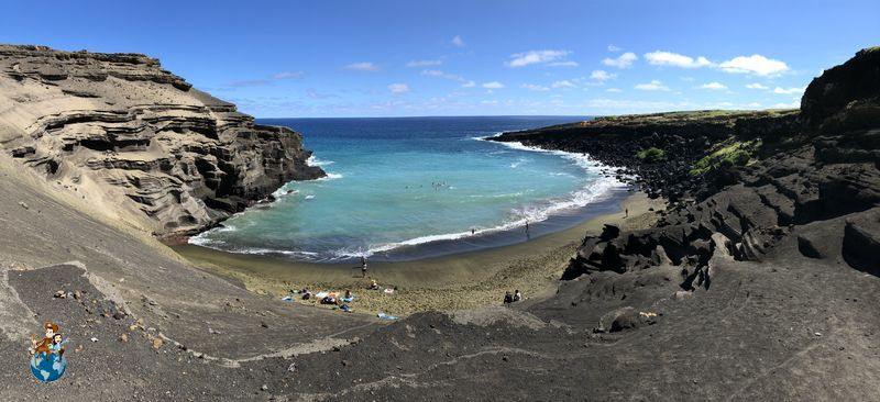Green Sand Beach -Papakōlea