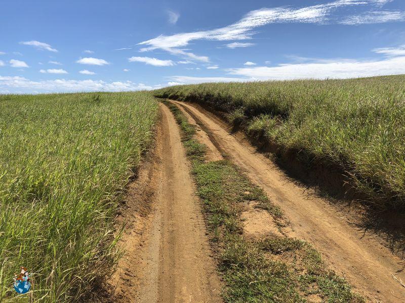 Trayecto para llegar a Green Sand Beach -Papakōlea