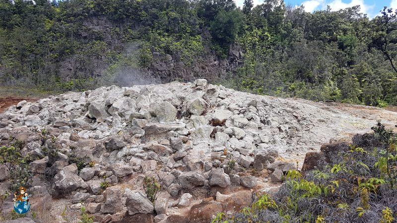Ha'akulamanu Sulphur Banks - Parque Nacional de los Volcanes