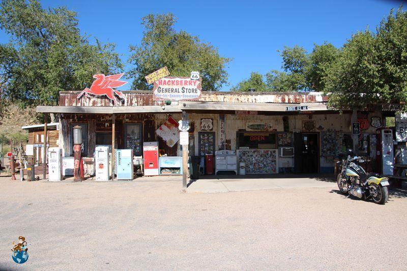 Hackberry General Store - Ruta 66