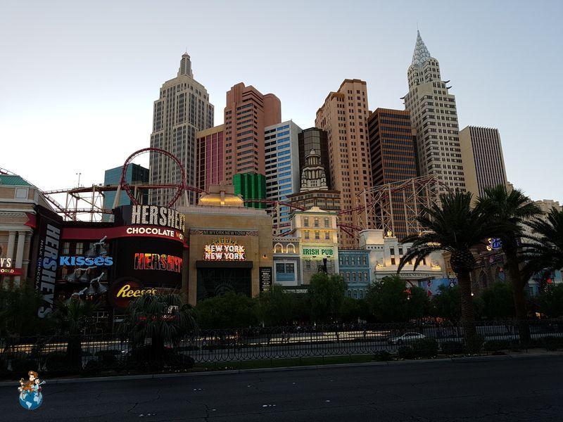 Hotel New York  New York - Las Vegas
