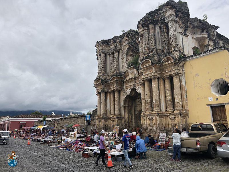 Iglesia del Carmen en Antigua Guatemala