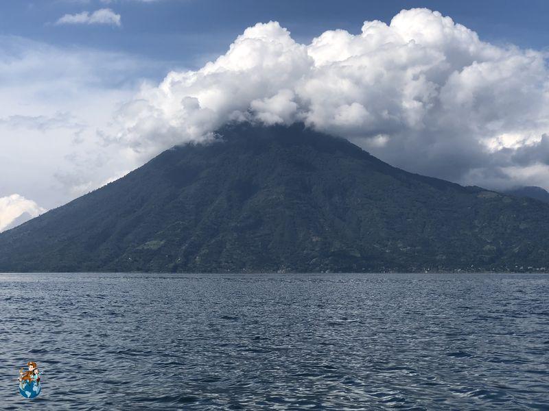 Volcán San Pedro - Lago Atilán