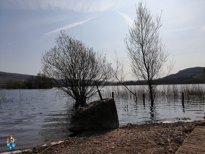Llangorse Lake - Parque Nacional Brecon Beacons