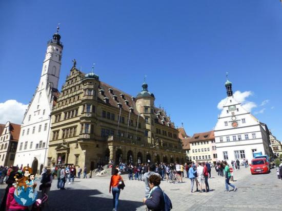 Edificio Ayuntamiento en Marktplatz - Rothenburg ob der Tauber