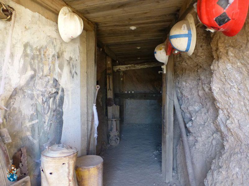 Reconstrucción Mina en Oatman