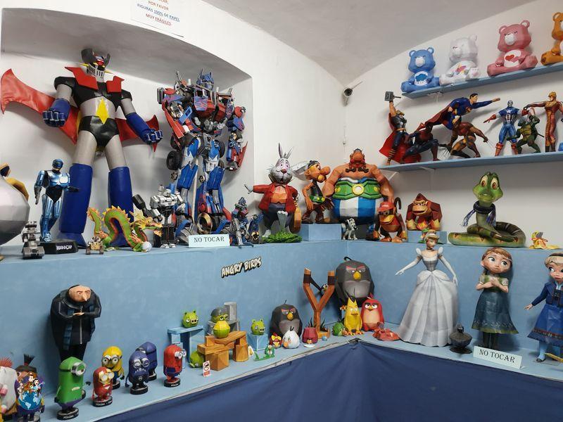 Museo papercraft de Olivenza
