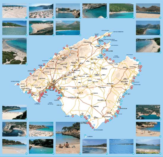 Mapa De Mallorca Calas.Guia De Mallorca Mucho Mas Que Playas Callejeando Por El