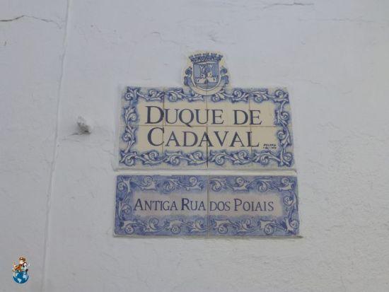 Nombre de las Calles de Olivenza en español y portugués