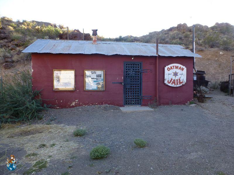 Antigua prisión de Oatman