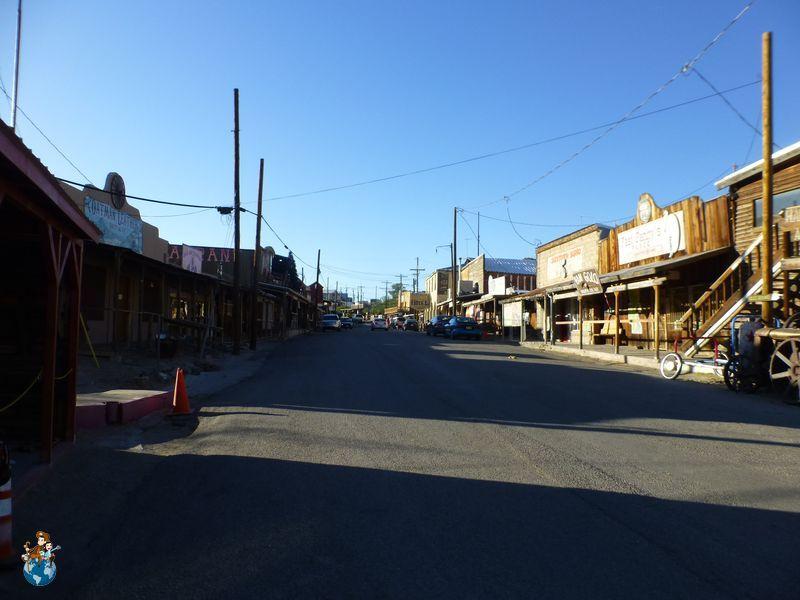 Calle principal de Oatman