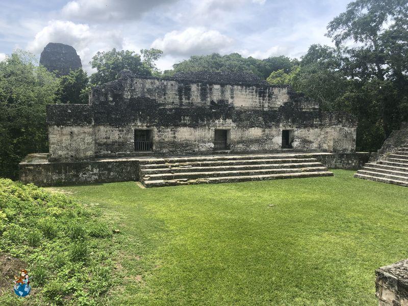 Palacio Maler - Acrópolis central Tikal