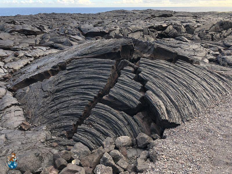 Lava en el Parque Nacional de los Volcanes