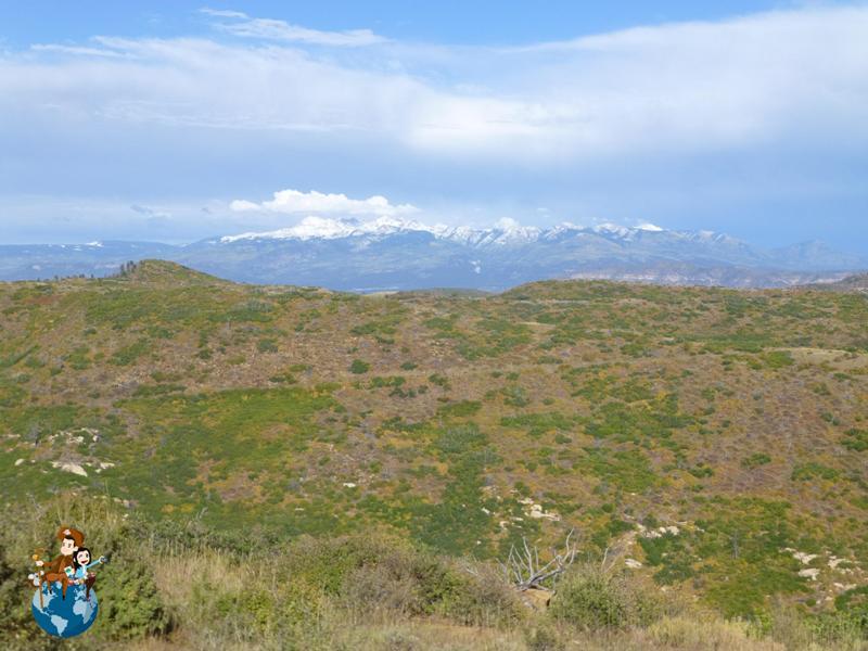 Mapa Parque Nacional Mesa Verde