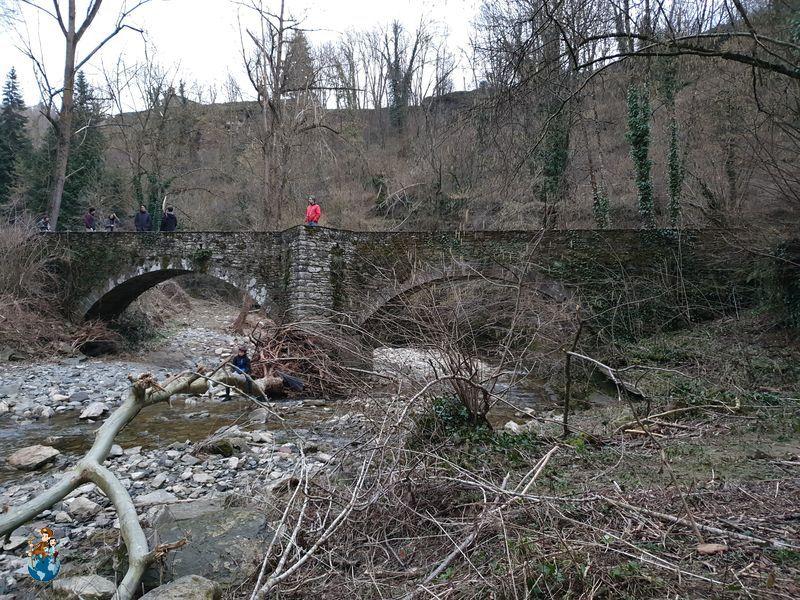 Puente medieval de Can Badaire