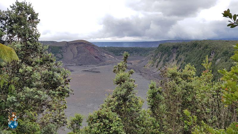 Mirador de Pu'u Pua'i en el Parque Nacional de los Volcanes