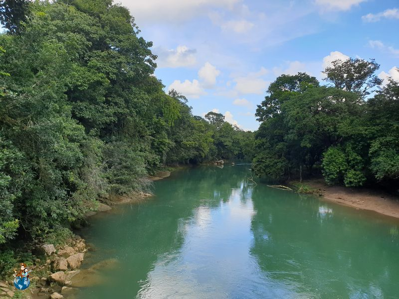 Río Cahabón en Semuc Champey