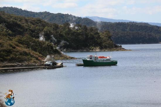 Embarcadero Lago Rotomahana