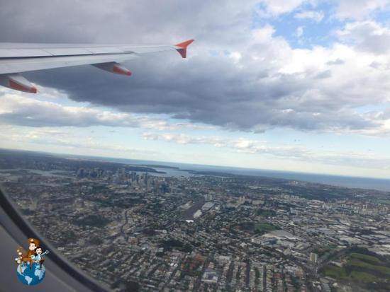 Sobrevolando Sydney - Australia