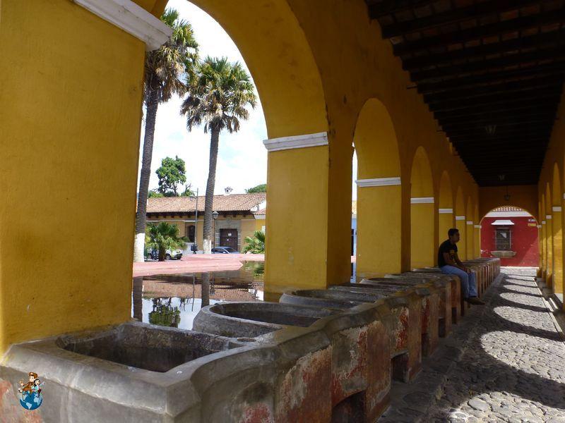 Tanque de la Unión en Antigua Guatemala