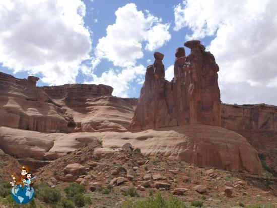 Three gossips - Parque Nacional Arches