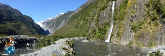 Sendero para llegar al Glacial Franz Josef - Nueva Zelanda