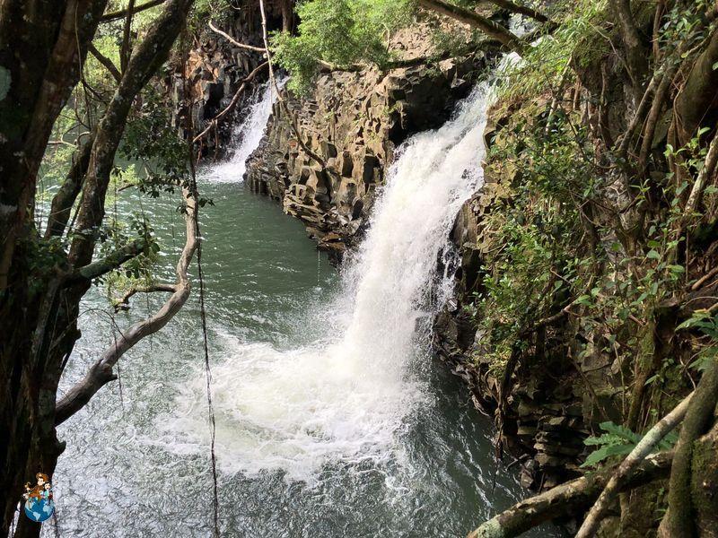 Twin Falls en la Carretera de Hana