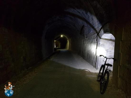Túneles de la Vía Verde de Horta de Sant Joan a Benifallet