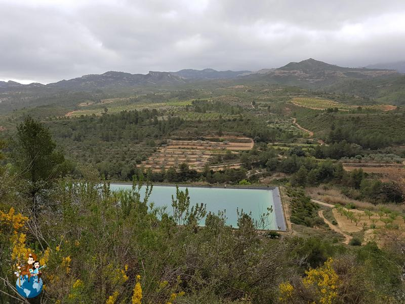 Vía Verde desde Horta de Sant Joan a Benifallet