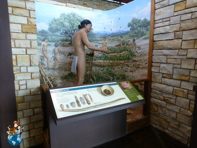 Exposición sobre los Anasazi en el Centro de Visitantes - Parque Nacional Mesa Verde