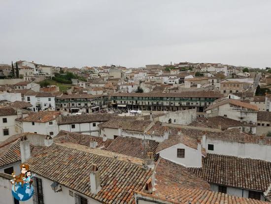Vistas de Chinchón desde la Iglesia de Nuestra Señora de la Asunción
