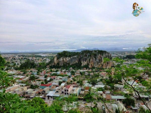 Vistas desde Montañas de Mármol